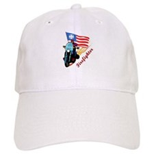 Firefighter Biker Baseball Cap