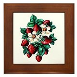 Strawberry Fields - Framed Tile