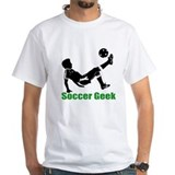 """Soccer geek"" Guy Shirt"