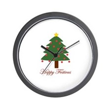 Happy Festivus Wall Clock