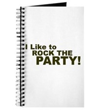 I Like to Rock the Party Journal