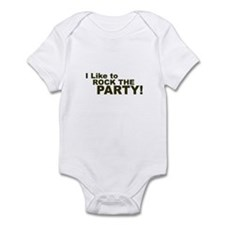 I Like to Rock the Party Infant Bodysuit