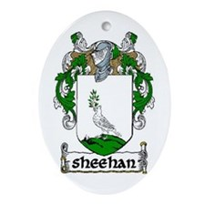 Sheehan Coat of Arms Keepsake Ornament
