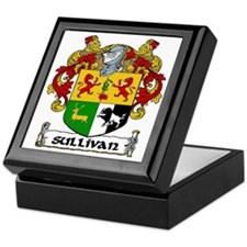 Sullivan Coat of Arms Keepsake Box
