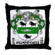 Sweeney Coat of Arms Throw Pillow