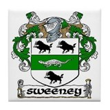 Sweeney Coat of Arms Ceramic Tile