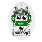 Sweeney Coat of Arms Keepsake Ornament