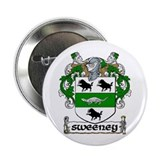 "Sweeney Coat of Arms 2.25"" Button (10 pack)"