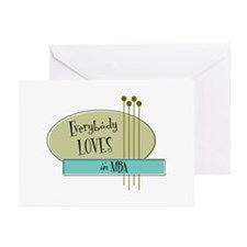 Everybody Loves an MBA Greeting Cards (Pk of 10)
