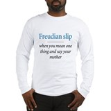 Freudian slip - Long Sleeve T-Shirt