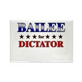 BAILEE for dictator Rectangle Magnet