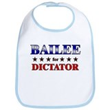 BAILEE for dictator Bib