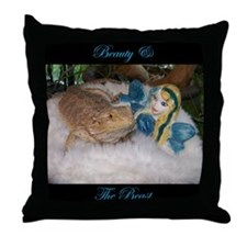 """Beauty & The Beast"" Throw Pillow"