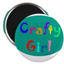 Crafty Girl Magnet