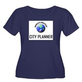 World's Greatest CITY PLANNER Women's Plus Size Sc