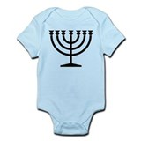 Menorah Infant Bodysuit