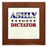ASHLY for dictator Framed Tile