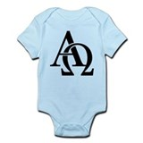 Alpha Omega Onesie