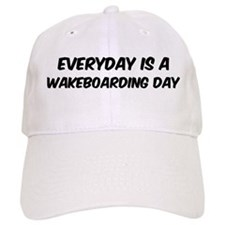 Wakeboarding everyday Baseball Cap
