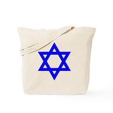 Star of David Blue Tote Bag