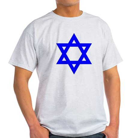 Star of David Blue Light T-Shirt