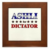 ASHLI for dictator Framed Tile