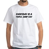 Triple Jump everyday Shirt