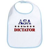 ASA for dictator Bib