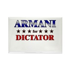 ARMANI for dictator Rectangle Magnet (10 pack)