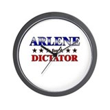 ARLENE for dictator Wall Clock