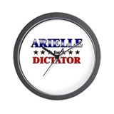 ARIELLE for dictator Wall Clock
