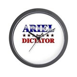 ARIEL for dictator Wall Clock