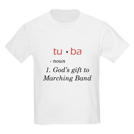 Tuba - God's Gift to Marching Band Kids Light T-Sh