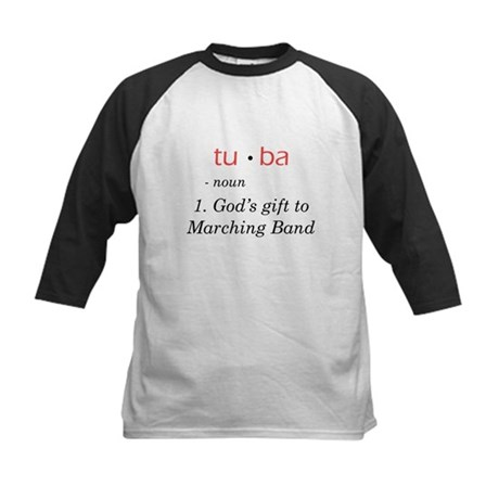 Tuba - God's Gift to Marching Band Kids Baseball J