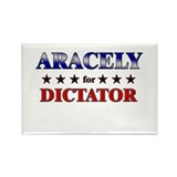 ARACELY for dictator Rectangle Magnet