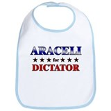 ARACELI for dictator Bib
