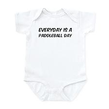Paddleball everyday Infant Bodysuit