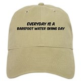 Barefoot Water Skiing everyda Baseball Cap