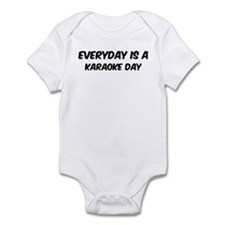 Karaoke everyday Infant Bodysuit