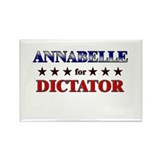 ANNABELLE for dictator Rectangle Magnet (10 pack)