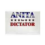 ANITA for dictator Rectangle Magnet (10 pack)