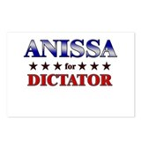 ANISSA for dictator Postcards (Package of 8)