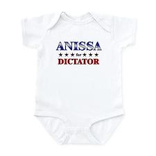 ANISSA for dictator Infant Bodysuit