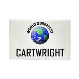 World's Greatest CARTWRIGHT Rectangle Magnet (10 p
