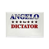 ANGELO for dictator Rectangle Magnet