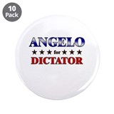 "ANGELO for dictator 3.5"" Button (10 pack)"