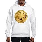 Gold Buffalo Hooded Sweatshirt