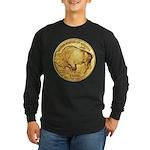 Gold Buffalo Long Sleeve Dark T-Shirt
