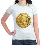 Gold Buffalo Jr. Ringer T-Shirt
