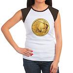Gold Buffalo Women's Cap Sleeve T-Shirt